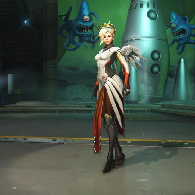 Mercy Classic Skin
