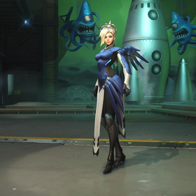 Mercy Cobalt Skin