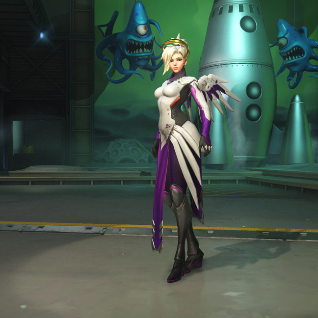 Mercy Orchid Skin