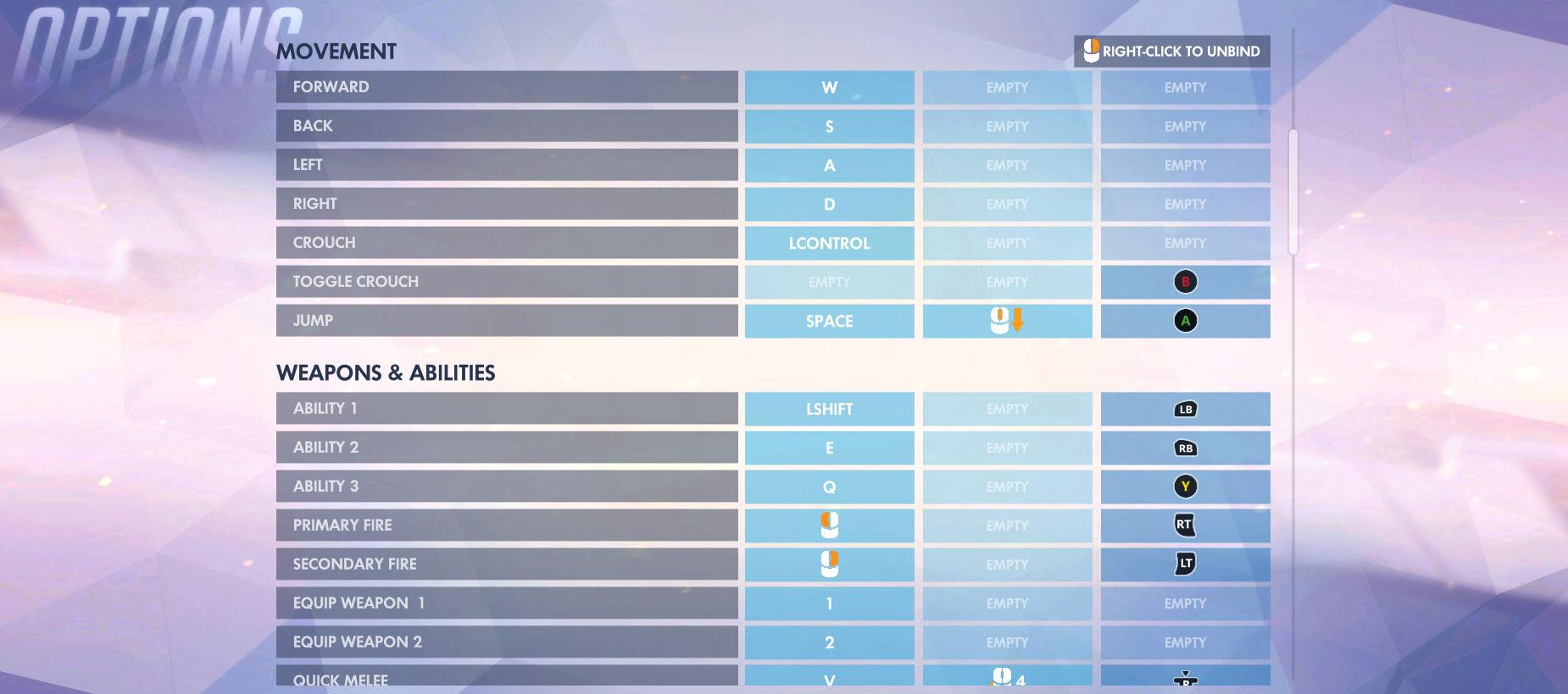 Overwatch Control Options 2