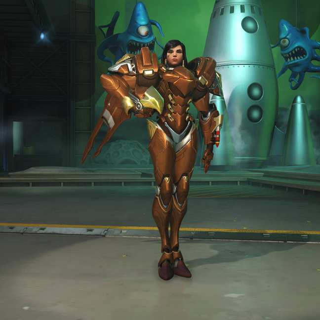 Pharah Copper Skin