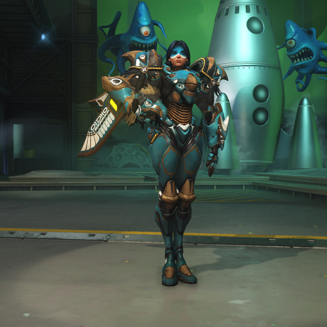 Pharah Raindancer Skin