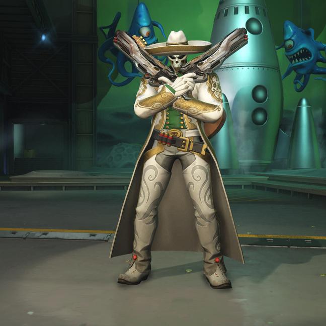Reaper El Blanco Skin