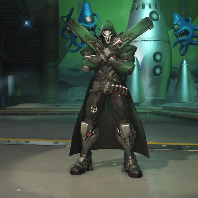 Reaper Moss Skin