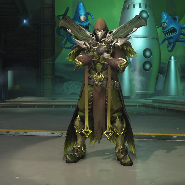 Reaper Plague Doctor Skin