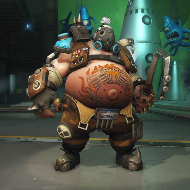 Roadhog Mud Skin