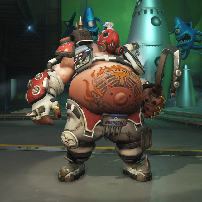 Roadhog Stitched Skin