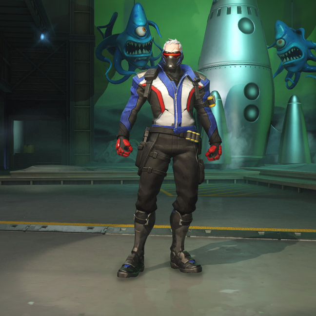 Soldier: 76 Classic Skin