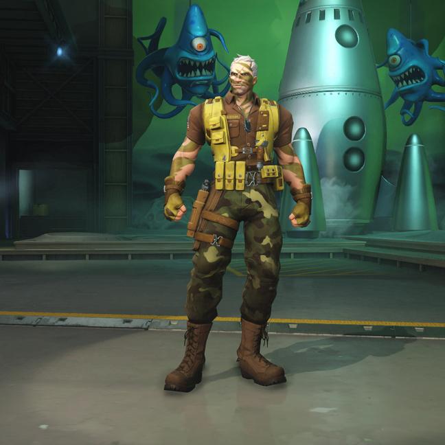Soldier: 76 Commando: 76 Skin