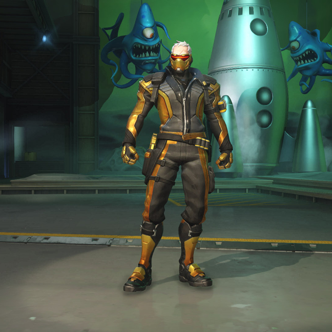 Soldier: 76 Golden Skin
