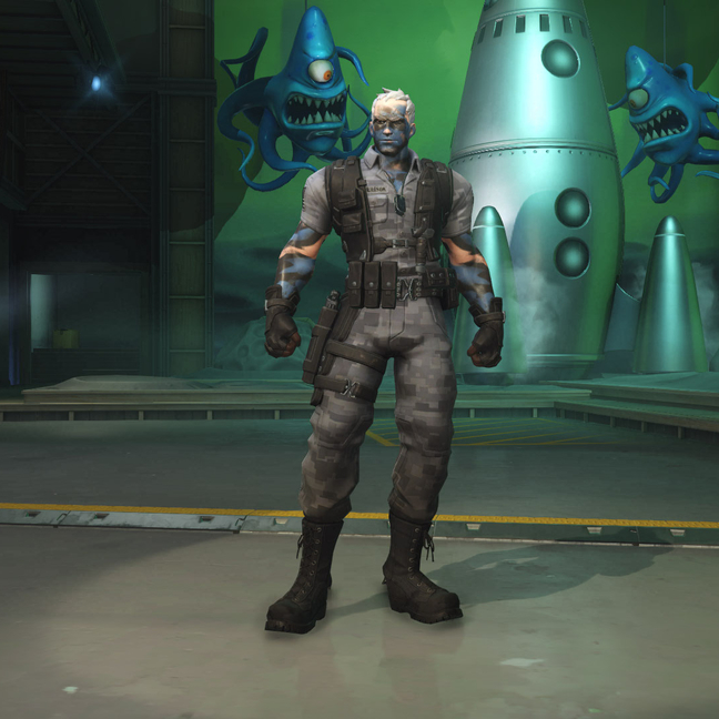 Soldier: 76 Night Ops: 76 Skin
