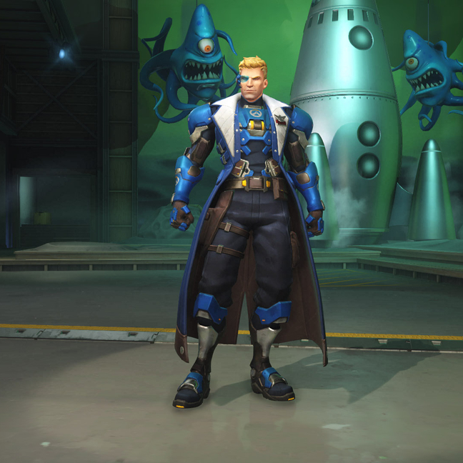 Soldier: 76 Strike-Commander Morrison Skin