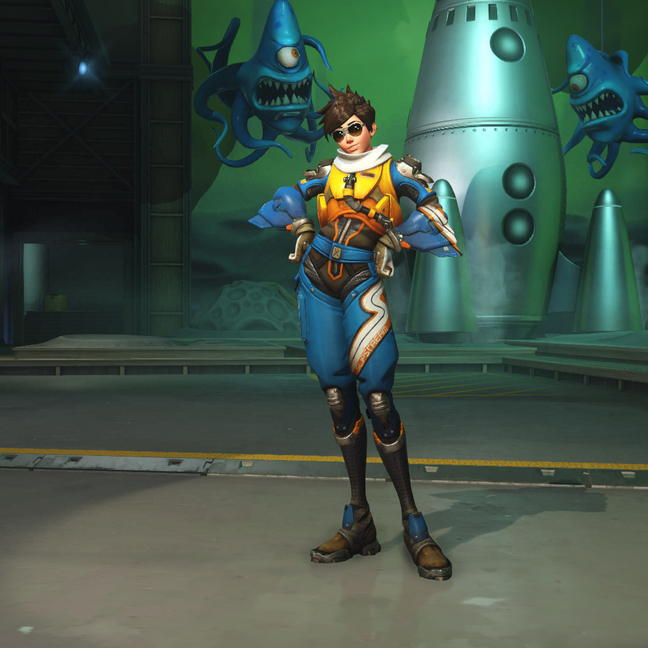 Tracer Slipstream Skin