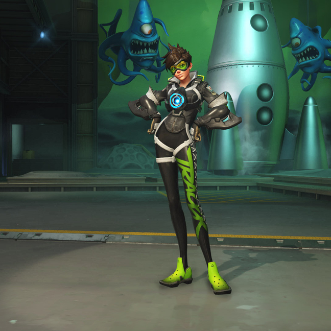 Tracer Sporty Skin