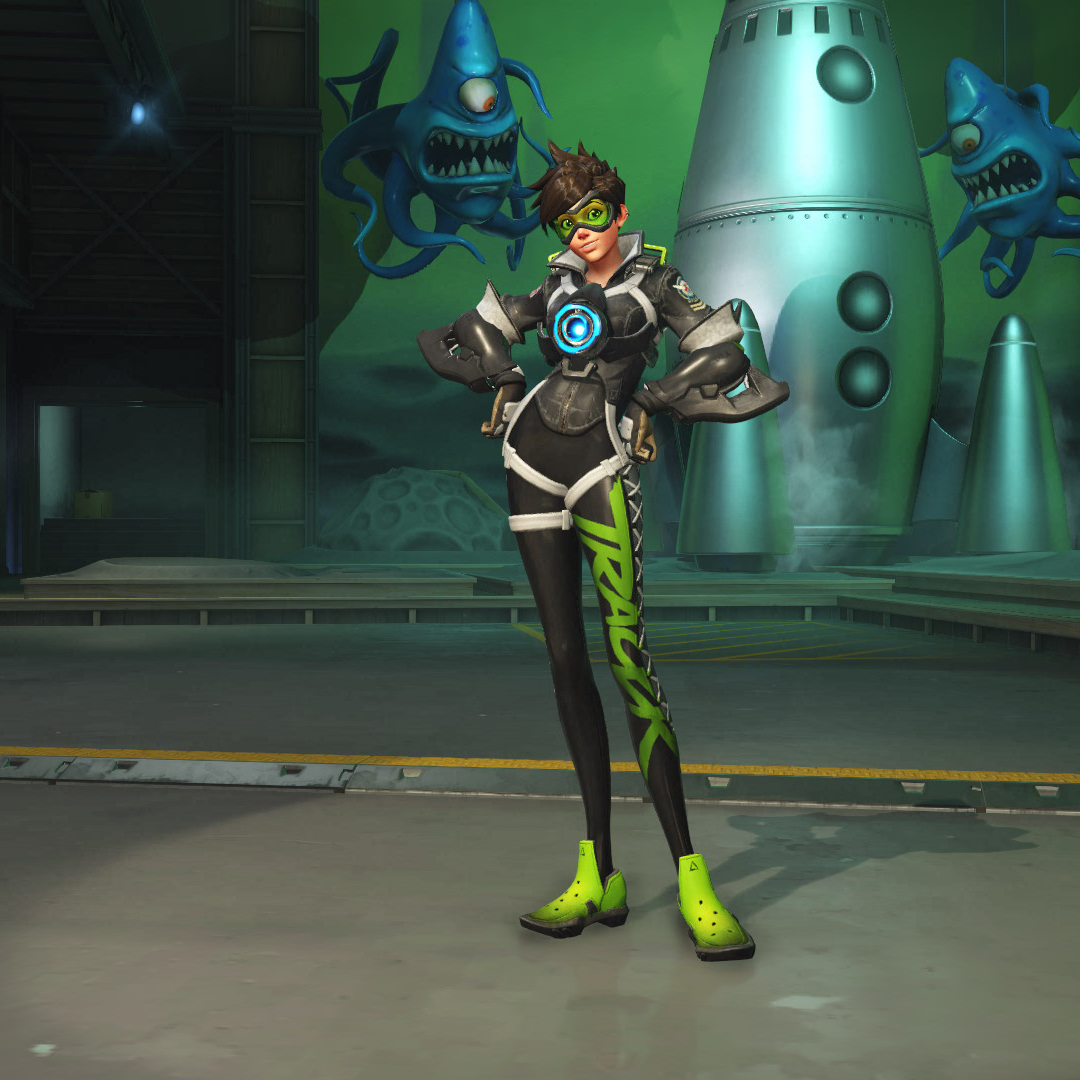 Tracer Skins - Overwatch