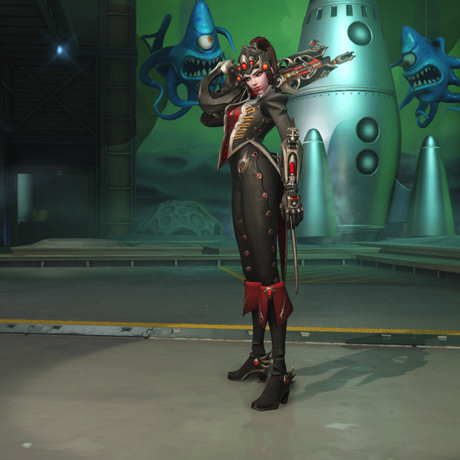 Widowmaker Huntress Skin