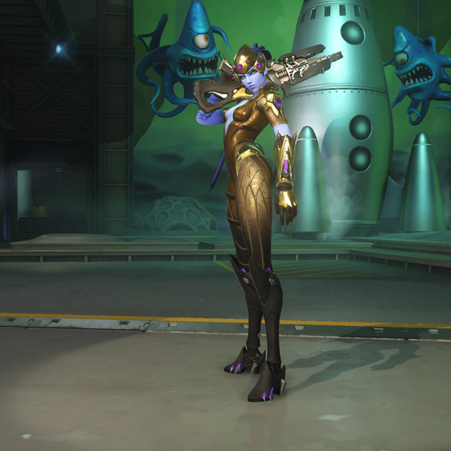 Widowmaker Patina Skin