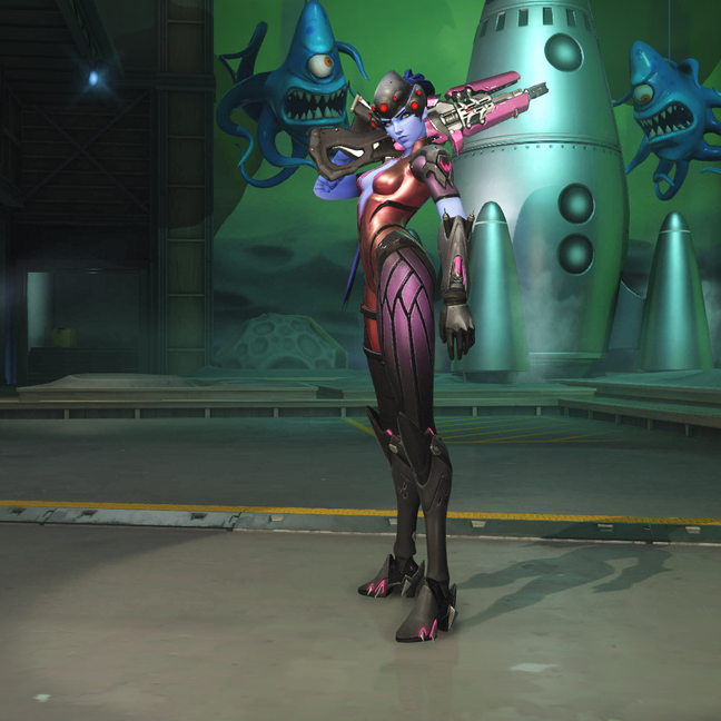 Widowmaker Rose Skin