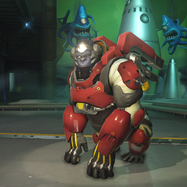 Winston Red Planet Skin