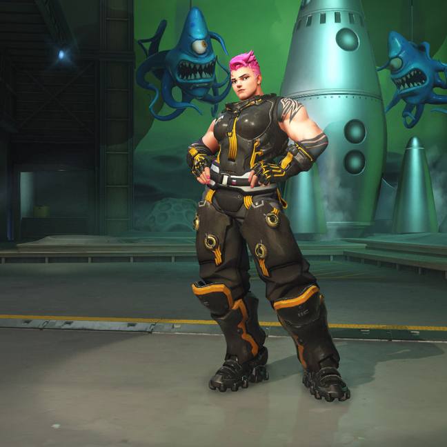 Zarya Midnight Skin