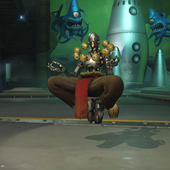 Zenyatta Earth Skin