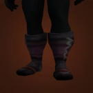 Dark Leather Boots Model