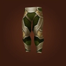 Gladiator's Satin Leggings, Gladiator's Mooncloth Leggings Model