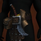 Blade-Chipped Waistguard, Girdle of Bound Agony, Befouled Demonhide Belt Model