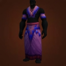 Barbaric Cloth Robe Model