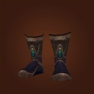 Guardian's Mooncloth Slippers Model