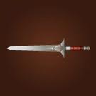 Iron Skull Sword Model