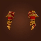 Replica Knight-Lieutenant's Dreadweave Gloves, Replica Knight-Lieutenant's Dreadweave Handwraps Model