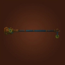 Inlaid Staff, Torch of Noon Model