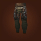 Ravaged Leather Pants Model