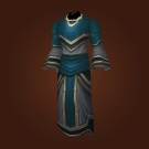 Carapace Robes, Gown of the Last Priestess, Gown of the Last Priestess Model
