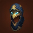 VanCleef's Helmet of Conquest, Hood of Lethal Intent, VanCleef's Helmet of Triumph, VanCleef's Helmet of Triumph, Peacebreaker's Leather Helm Model