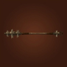 Endurance of the Spell Warder, Spiked Greatstaff Model