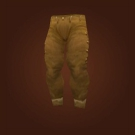 Brown Linen Pants Model
