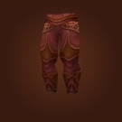 Replica Knight-Captain's Dragonhide Leggings, Replica Knight-Captain's Dragonhide Leggings Model