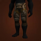 Cold-Forged Bronze Legplates, Amberplate Legguards, Spiked Cobalt Legplates, Leggings of the Canny Chief, Golem Legplates, Legplates of Dominion, Ebonsoul Legplates, Ebonsoul Legguards Model