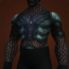 Horror Inscribed Chestguard, Chestplate of Blackened Emeralds Model