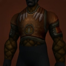 Whale-Skin Breastplate, Darkheart Chestguard, Titan-Forged Leather Tunic of Triumph Model