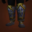 Pearl Inlaid Boots, Tide-Stomper's Greaves Model