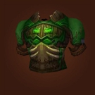 Blessed Elunite Coverings, Vestments of Hibernation, Shadowtooth Trollskin Breastplate Model