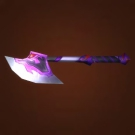 Silvermoon Crescent Axe Model