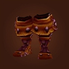 Heavy Timbermaw Boots, Scaled Draenic Boots Model