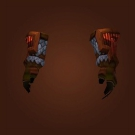 Polished Waterscale Gloves, Grips of Nature's Wrath, Brittle Flamereaver Gloves Model