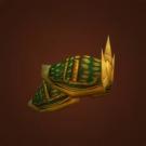 Green Iron Shoulders, Sylvanaar Defender's Pauldrons, Exotic Spiked Shoulders Model