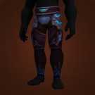 Flame-Ascended Pantaloons, Soul Breath Leggings Model