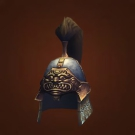 Hawkmaster's Headguard, Dreadeye Gaze, Crimsonscale Helm Model